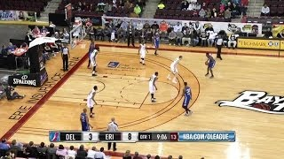 Highlights of Thanasis Antetokounmpo (18 pts) vs. Erie BayHawks