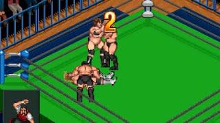 【GBA】ファイプロ 森嶋猛 & 力皇猛 vs 高山善廣 & 大森隆男 / Fire Pro Wrestling 2 WILD II vs NO FEAR