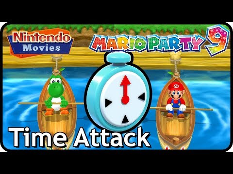 Mario Party 9 - Time Attack (Mario VS Yoshi)