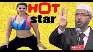 Sunny Leone is Superb Example for Non Virgin   Dr Zakir Naik