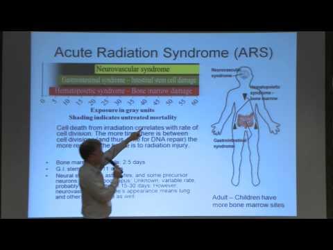 Radiation Exposure & Treatment - Brian Hanley - 16th Mars Society Convention