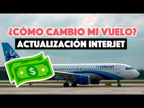 ¿Cómo cambiar mi vuelo con Interjet?