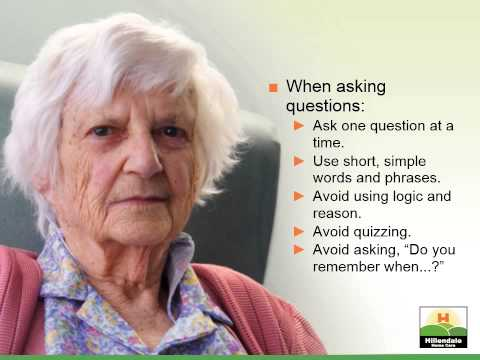 Tips for Better Communication With Someone With Alzheimer's or Dementia