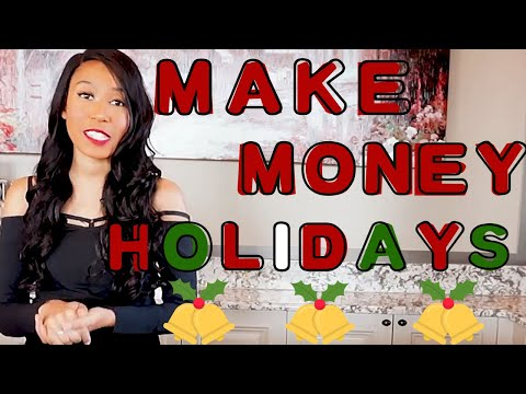 Ways to Make Money During the Holidays