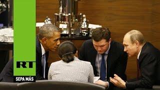 Putin y Obama dialogan en la cumbre del G20