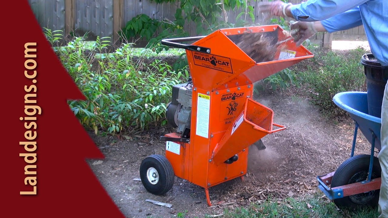 Electric Mulcher Chipper Shredder