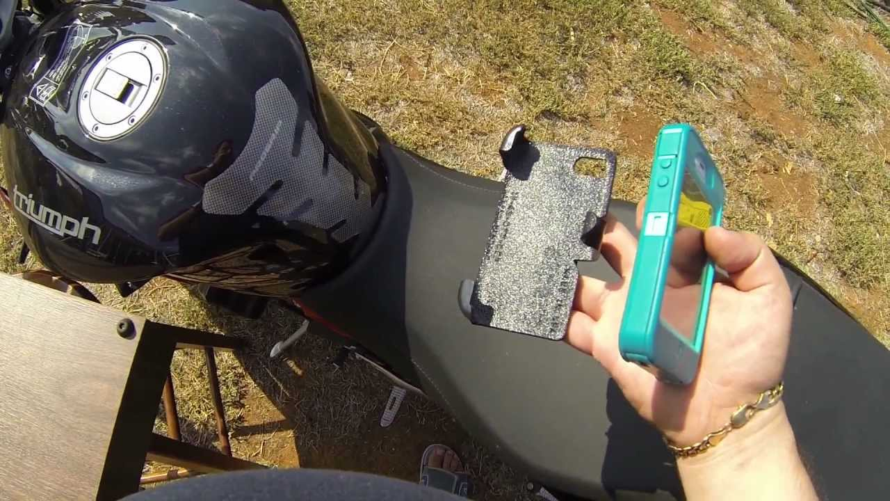 Vid7 Slipgrip Motorcycle Mount For Defender Otter Box Iphone