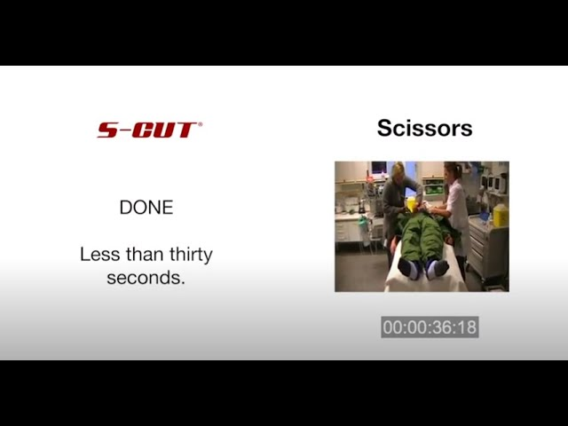 S Cut side by side time comparison vs. shears