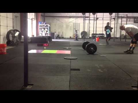 The Fittest games WOD 1 Jared Muse masters