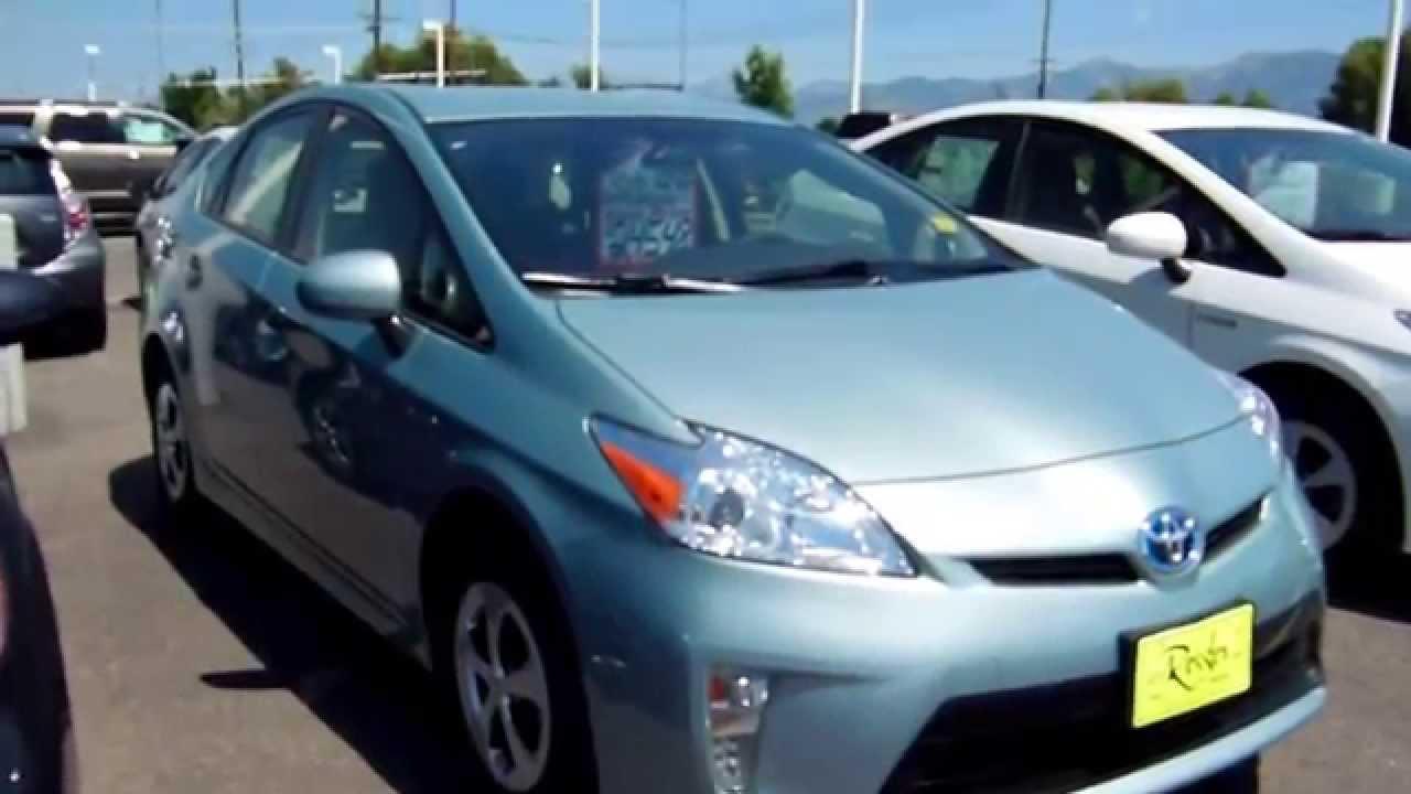 Toyota Prius Hybrid Sea Glass Pearl Bozeman Montana