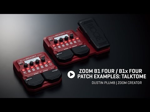 Dustin Plumb - B1 FOUR Patch Example -TalkToMe