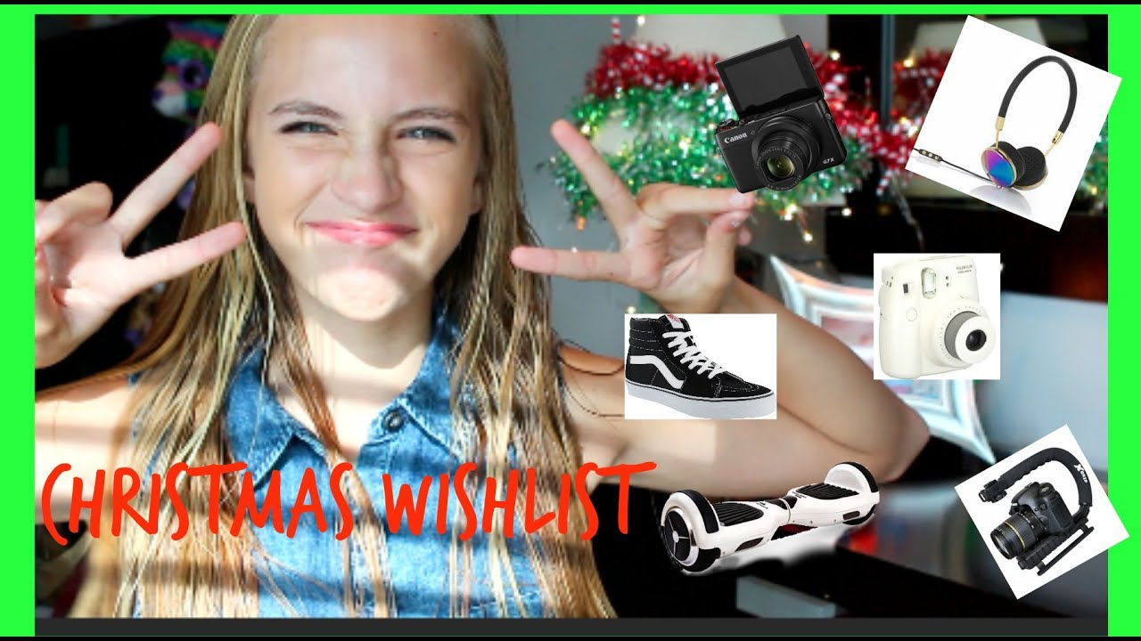 Christmas Wishlist 2015 I Kaelyn Pannier - YouTube