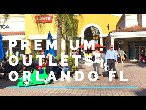 Premium Outlets Orlando Shoppers At International Drive Orlando 🛍️