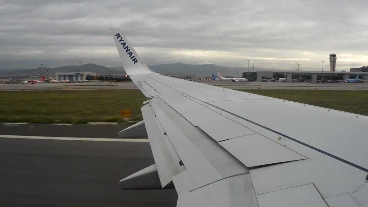 Ryanair | B737-8AS | FR5156 | AGP-FKB | Takeoff from Malaga Airport - YouTube