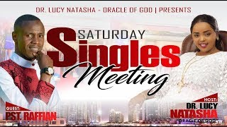 SINGLES MEETING -  Before You Say I Do.