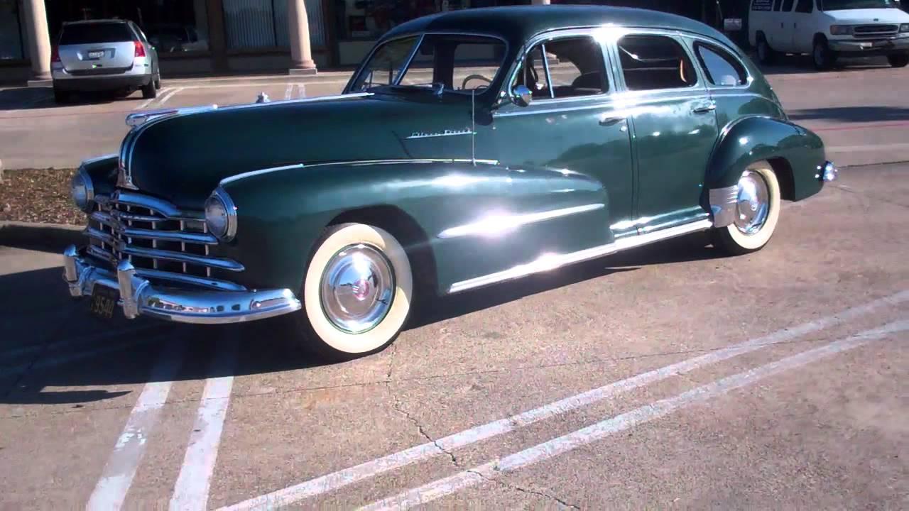 1948 pontiac silver streak youtube