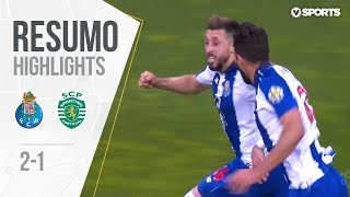 Highlights | Resumo: FC Porto 2-1 Sporting (Liga 18/19 #34)