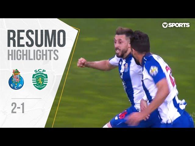 Highlights | Resumo: FC Porto 2-1 Sporting (Liga 18/19 #34)