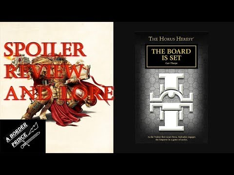 Warhammer Novel Review and Lore: The Board is Set by Gav Thorpe