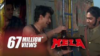 Johnny lever drinks aamir khan's piss | funniest scene | mela