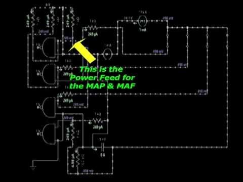 Power Supply Wiring Harness Ecu Engine Control Module Power Input Youtube
