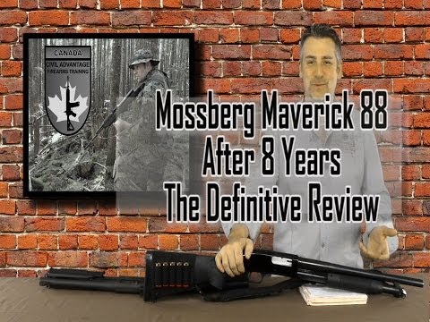 Mossberg Maverick 88 - Review After 8 Years