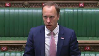 video: Politics latest news: Boris Johnson stands by Matt Hancock - but does not challenge Dominic Cummings's bombshell - watch Commons live