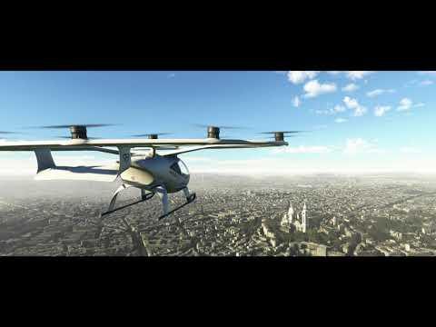 Microsoft Flight Simulator Volocopter   gamescom 2021