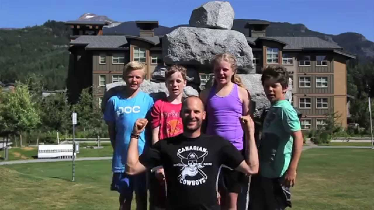 Kidsport Corporate kids challenge training video. 90's edition
