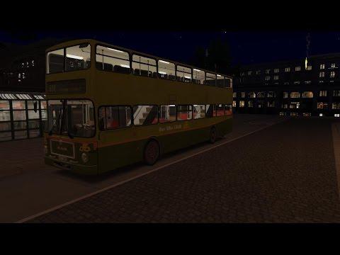 Omsi 2: Map Hamburg day and night, Man SD200 D85 Dublin Bus