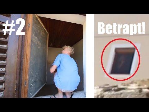 INBREKEN IN VERLATEN HUIZEN (BETRAPT) - vakantie vlog #2