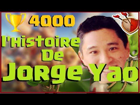 CLASH OF CLANS ~ L'HISTOIRE DU MEILLEUR JOUEUR MONDIAL JORGE YAO
