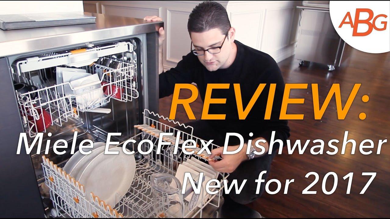 Miele Ecoflex Dishwasher Review G6665 Scvi New For 2017