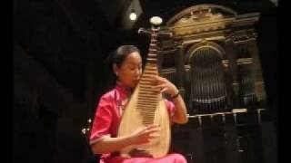 Chinese folk music:Dance of the Yi people 彝族舞曲,  Liu Fang  pipa solo 劉芳琵琶