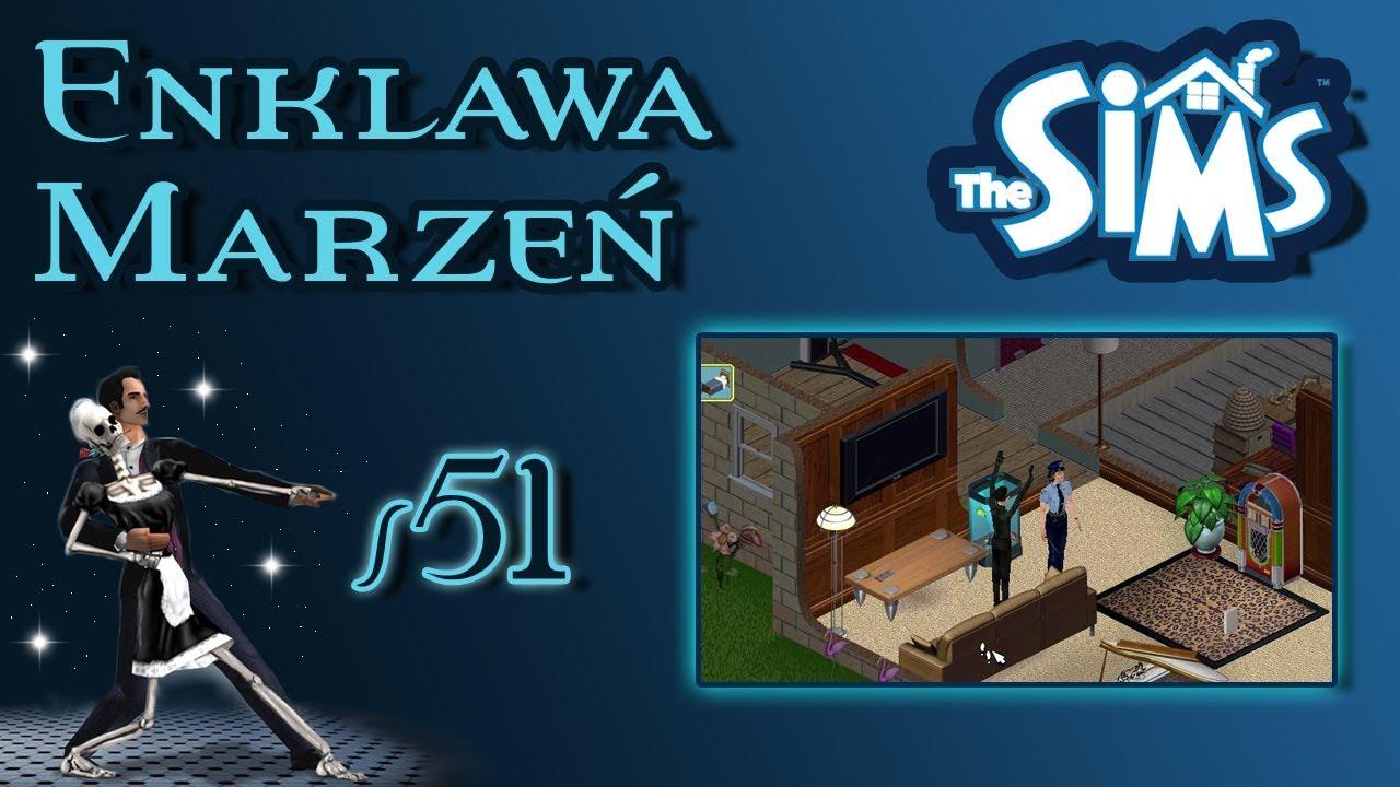 """Enklawa Marzeń odc. 51 – The Sims 1 – """"Złodziej!"""""""