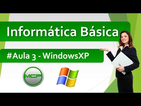 Curso Informática Básica - Aula 3 - Iniciando o WindowsXP (HD)