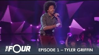 Tyler Griffin: First Audition Gets Simon Cowell Treatment By Charlie Walk! | S1E1 | The Four