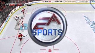 NHL 11 Gameplay  [HD]  Xbox 360