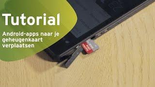 Handleiding: Android-apps naar je geheugenkaart verplaatsen (Dutch)