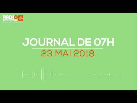 Le journal de 7h du 23 mai 2018 - Radio Côte d'Ivoire