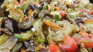 ✅Полезная овощная закуска с остринкой/Useful vegetable snack with ostrinka