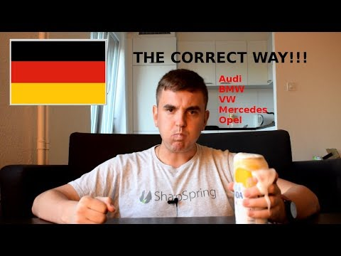 How to pronounce German Car Names