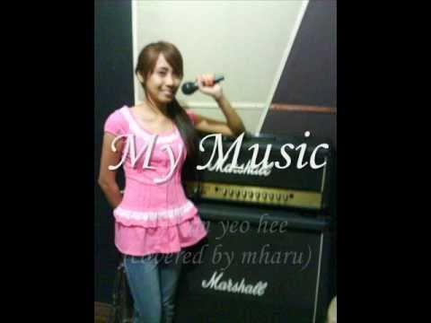my music - kim yeo hee (cover) korean-english version