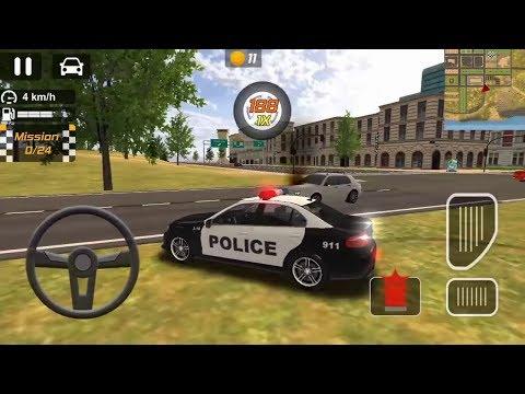 Juego De Carros Para Niños   Carros De Policía