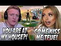 Tfue Got SURPRISED By Corinna Showing Up To His HOUSE! They Finally KISSED On Stream!