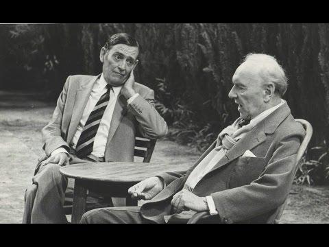 "Ralph Richardson in David Storey's ""Early Days"""