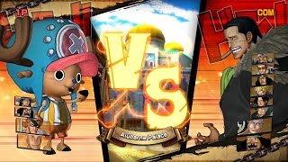 One Piece: Burning Blood | 5v9: Zoan vs. Logia