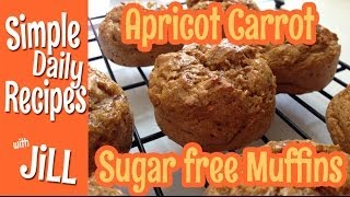 Apricot Carrot Muffins