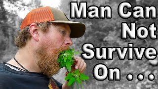 Man Can Not Survive On Fish Alone Day 9 Of 30 Day Survival Challenge Canadian Rockies