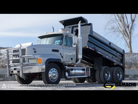 2003 mack cl733 dump truck for sale camion dompeur vendre youtube. Black Bedroom Furniture Sets. Home Design Ideas